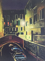 Magic of the Night, Venice 2012 48x38 Huge Original Painting by Igor Medvedev - 2