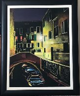 Magic of the Night, Venice 2012 48x38 Huge Original Painting by Igor Medvedev - 1