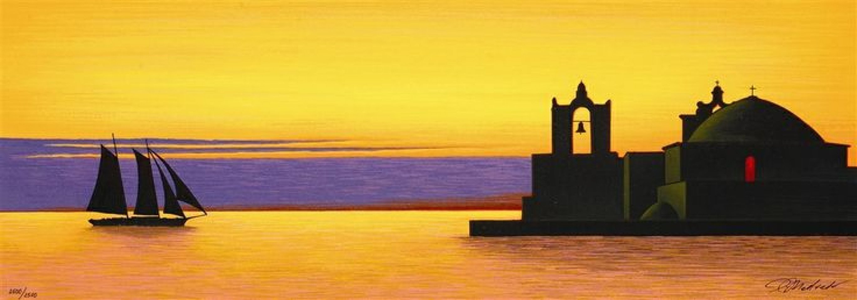 Golden Arrival 2006 Limited Edition Print by Igor Medvedev