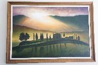 Tuscany Aglow 2004 43x66 Super Huge Original Painting by Igor Medvedev - 2