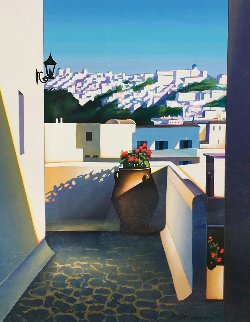 Santorini Vista 2003 Limited Edition Print - Igor Medvedev