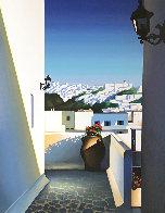 Santorini Vista 2003 Limited Edition Print by Igor Medvedev - 0