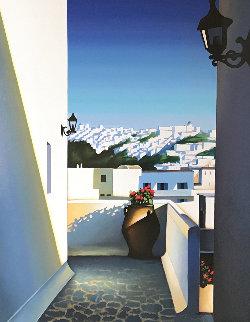 Santorini Vista 2003 Limited Edition Print by Igor Medvedev