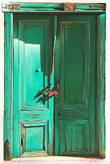 Green Door #26 1997 Limited Edition Print - Igor Medvedev