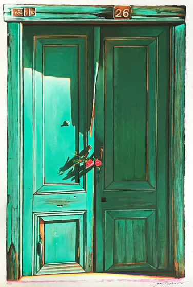 Green Door #26 1997 Limited Edition Print by Igor Medvedev
