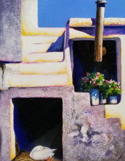 Hideaway 49x34 Original Painting - Igor Medvedev