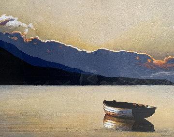 Zen 2004 36x43 Original Painting - Igor Medvedev