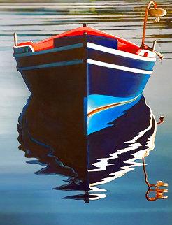 Untitled Painting 49x39 Huge Original Painting - Igor Medvedev