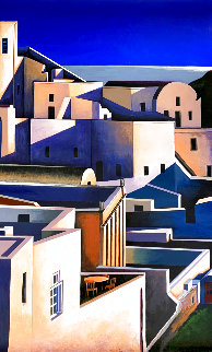 Grand View of Santorini Limited Edition Print - Igor Medvedev