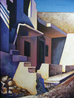 Light Angles 1993 46x36 Original Painting by Igor Medvedev