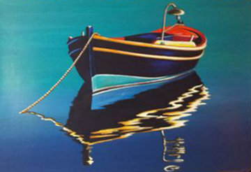 Sunset on Crete, Greece 1998 39x41 Limited Edition Print - Igor Medvedev
