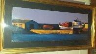 Harbor Sunset 1998 Limited Edition Print by Igor Medvedev - 2