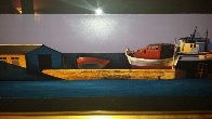 Harbor Sunset 1998 Limited Edition Print by Igor Medvedev - 1