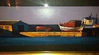 Harbor Sunset 1998 Super Huge Limited Edition Print by Igor Medvedev - 1