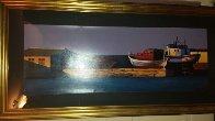 Harbor Sunset 1998 Super Huge Limited Edition Print by Igor Medvedev - 4