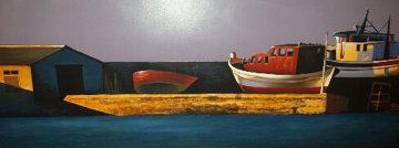 Harbor Sunset 1998 Limited Edition Print - Igor Medvedev