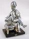 Sigmond Freud Bronze Sculpture 19 in Sculpture by Frank Meisler - 0