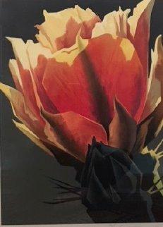 La Flor Rojo Limited Edition Print - Ed Mell