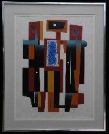 Mucisians Limited Edition Print by Carlos Merida - 1