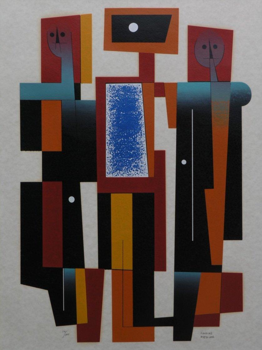 Mucisians Limited Edition Print by Carlos Merida
