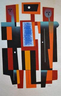Abstract Limited Edition Print - Carlos Merida