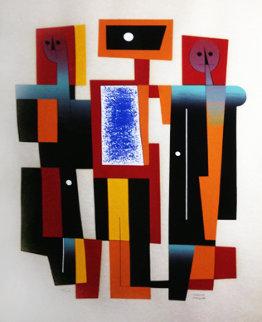 Musicians - Huge Limited Edition Print - Carlos Merida