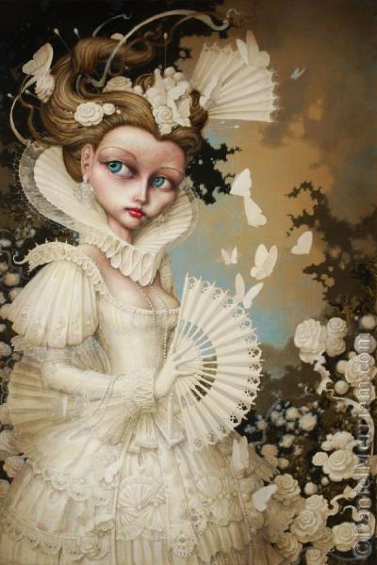 Madame Blanche  2009 Limited Edition Print by Daniel Merriam