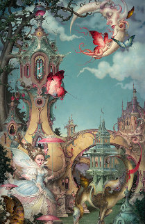 Le Petite Trianon 2010 Limited Edition Print - Daniel Merriam