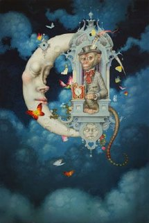 Time Traveler 2012 Limited Edition Print by Daniel Merriam