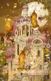 Moon Chateau 2006 Limited Edition Print - Daniel Merriam