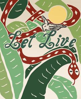Let Live 2020 PP  Limited Edition Print - Joel Mesler