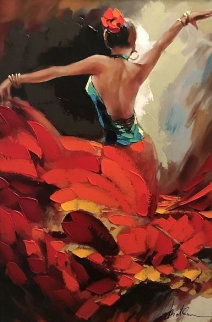 Crescendo 2015 Embellished Limited Edition Print - Anatoly Metlan