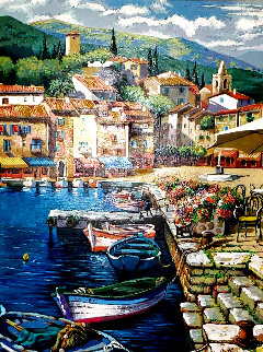 Docked AP Embellished 2005 Limited Edition Print - Anatoly Metlan