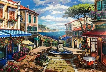 Stunning View Embellished Limited Edition Print - Anatoly Metlan