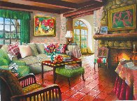 Homage to Matisse Limited Edition Print by Anatoly Metlan - 5
