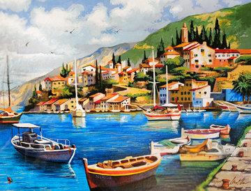 Harbor 2005 Limited Edition Print - Anatoly Metlan