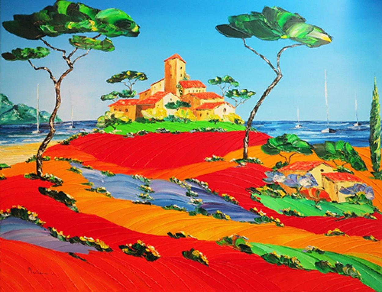 Spirit of the Day 28x36 Original Painting by Monika Meunier