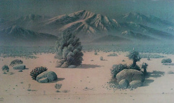 Desert Unique 1990 51x27 Super Huge Limited Edition Print - Maurice Meyer