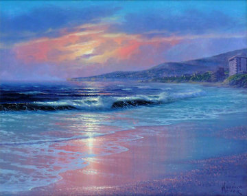 Laguna Shores, California 14x16 Original Painting by Maurice Meyer