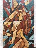 Kiss 2007 39x24 Original Painting by Trevor Mezak - 2
