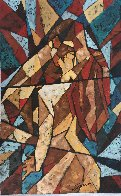 Kiss 2007 39x24 Original Painting by Trevor Mezak - 3