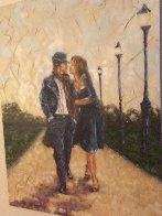 Walk in the Park 2007 40x30 Super Huge Original Painting by Trevor Mezak - 8