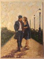 Walk in the Park 2007 40x30 Super Huge Original Painting by Trevor Mezak - 1