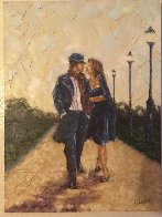 Walk in the Park 2007 40x30 Super Huge Original Painting by Trevor Mezak - 3