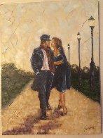 Walk in the Park 2007 40x30 Super Huge Original Painting by Trevor Mezak - 4