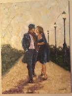 Walk in the Park 2007 40x30 Super Huge Original Painting by Trevor Mezak - 5