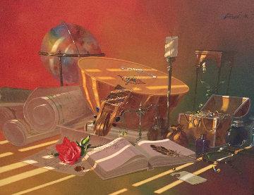 Adventurer 36x42 Original Painting by Michael Gorban