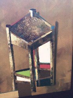 Stool 23x19 Original Painting by Michael Gorban
