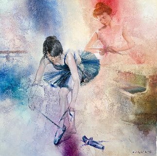 Ballet School 2011  Original Painting by Michael Gorban
