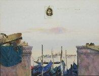 Impressions, Venice 1998 51x63 Huge  Original Painting by Michael Gorban - 2